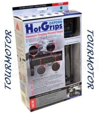 voorbeeld verwarmde handvatten toermotorfiets