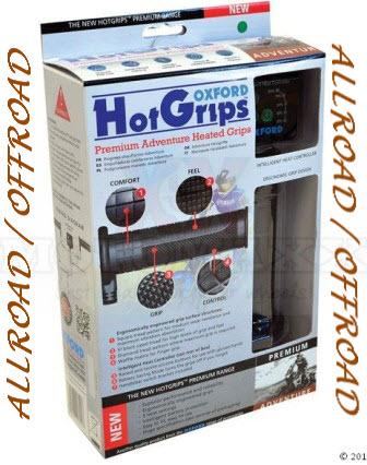 Voorbeeld verwarmde handvatten voor allroad/offroad